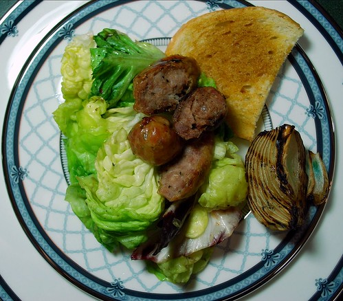 Grilled Sausage Salad 3