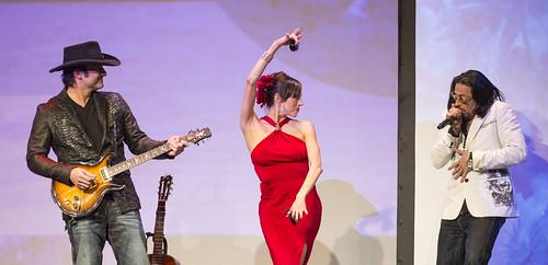 Rober Rodriguez, Patricia Vonne, and Alex Ruiz, by Rick Kern, on Flickr