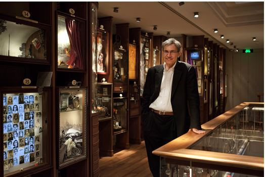 Orhan Pamuk at Museum of Innocence