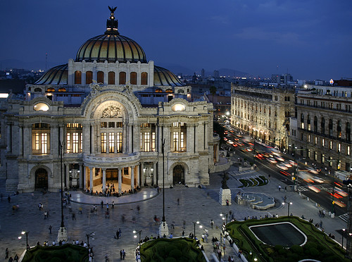 Bellas Artes, Mexico City