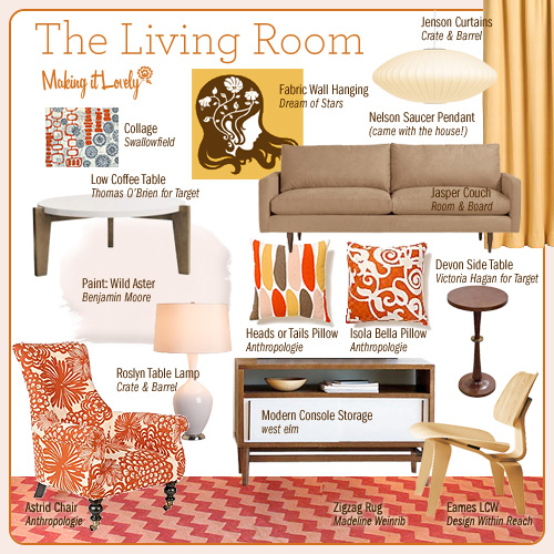 The living room reimagined making it lovely for Things in a living room
