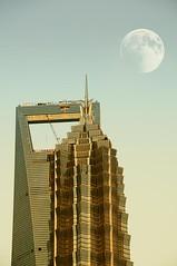 Jin Mao reaching the moon