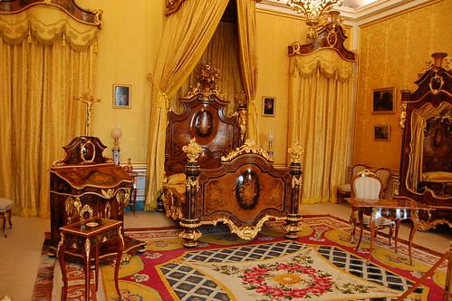 Dormitorio de Isabel II, Palacio Real de Aranjuez