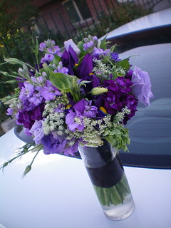My New Favorite Purple Bouquet