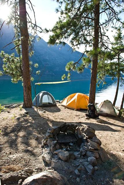 Lake Chelan Camping Trip Flickr Photo Sharing