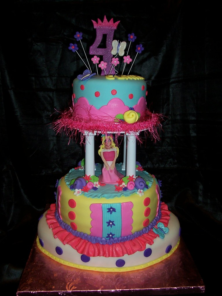 Birthday Cake For A Little Princess