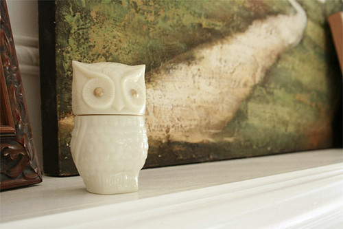 little avon owl pot