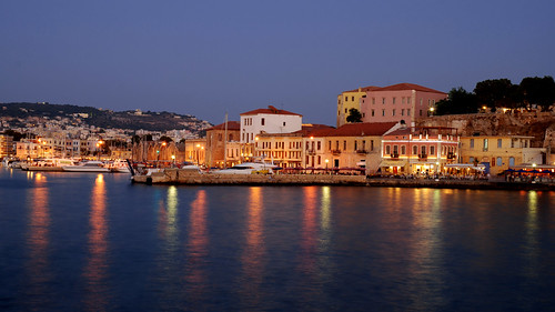 A magical evening in Chania