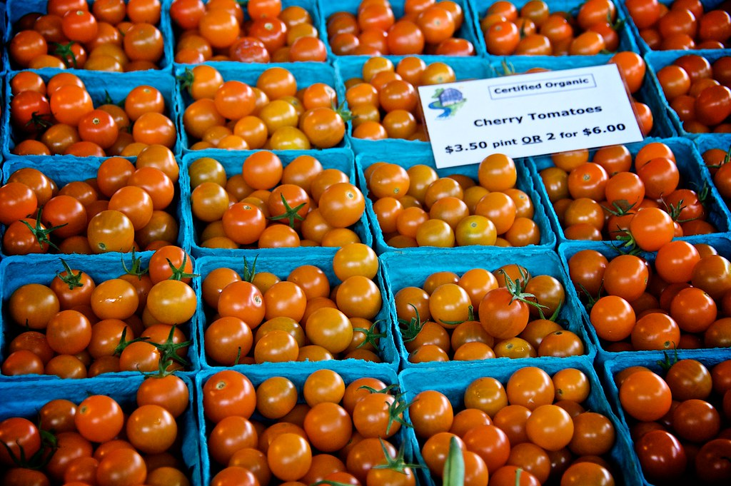 Cherry Tomatoes at Ithaca Farmers Market