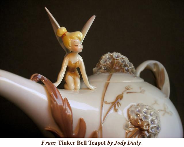 Franz Tinker Bell Teapot (detail) by Jody Daily