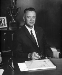 Robert E. Thomas, CEO, County of Orange, circa 1968