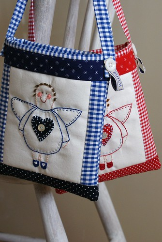 angel stitchery