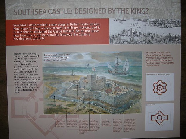 Southsea Castle02 - a brief history