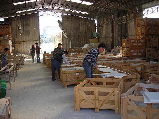 Travertine Natural Stone Floor Tiles