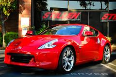 auto show(0.0), nissan(0.0), automobile(1.0), automotive exterior(1.0), wheel(1.0), vehicle(1.0), performance car(1.0), automotive design(1.0), nissan 370z(1.0), land vehicle(1.0), luxury vehicle(1.0), supercar(1.0), sports car(1.0),