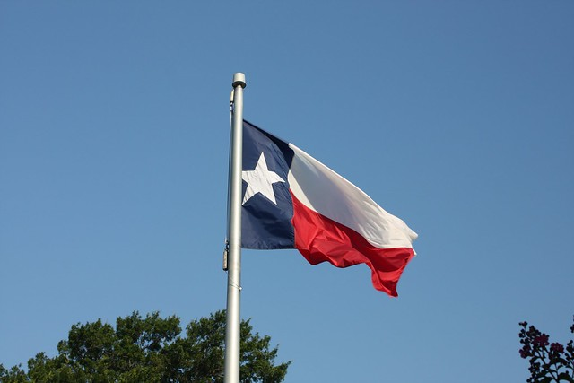 Flag of Texas - Flickr CC scazon