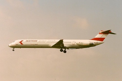 Austrian Airlines MD81 OE-LDV