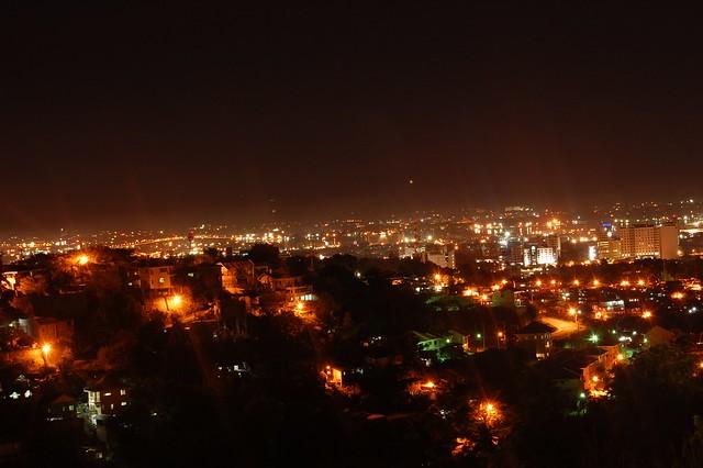 Cebu City Night Scene