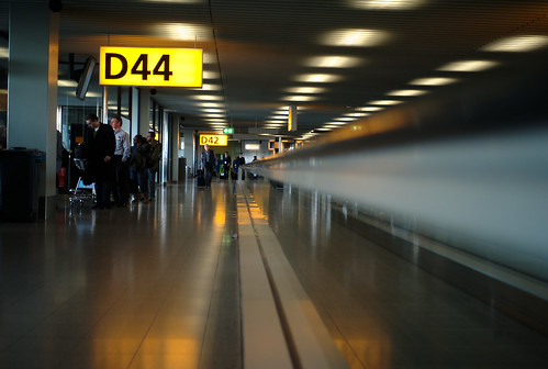 waiting in schiphol