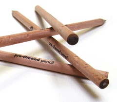 Prechewed Pencils