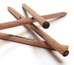 Prechewed Pencils