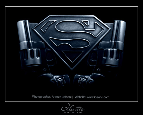 Superman 3D Logo http://www.flickr.com/photos/ideatic/3289870873/