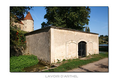 Lavoir in Arthel (F) - Photo of Marcy