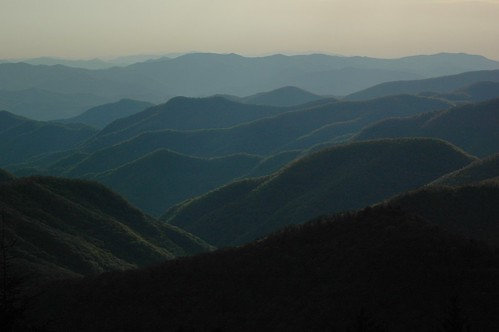 blueridgeparkway carolina mountains valleys mist fog greatsmokymountains sky ncmountainman nikon d70s phixe northamerica usa ng nationalgeographicsociety lowresolutionversion brp landscape ridge ngs foothills woods forest trees woodlands nikon70300mmlens dslr