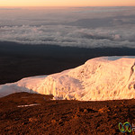 Glaciers Over the Clouds - Mt. Kilimanjaro, Tanzania