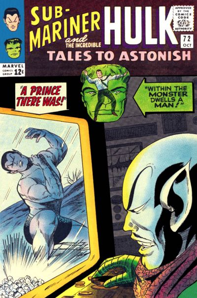 Tales to Astonish 072