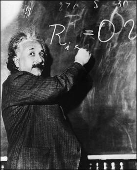 einstein's math