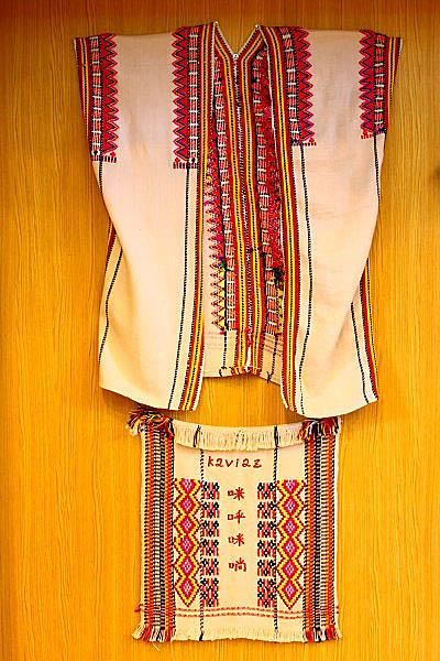 1U68布農族文物-傳統服飾