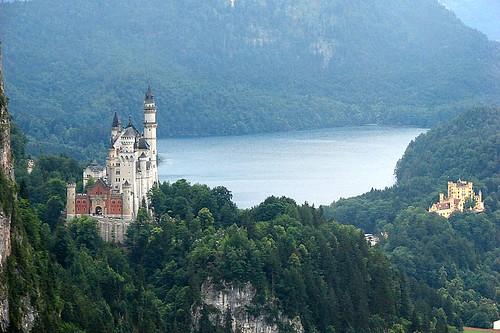 Castelos Neuschwanstein e Hohenschwangau / Neuschwanstein and Hohenschwangau castles