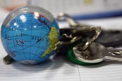 A key globe..