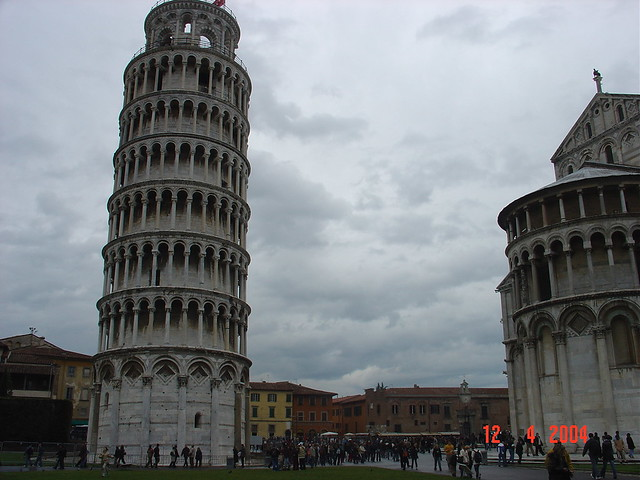 The Leaning Tower of Pisa, Tuscany ...