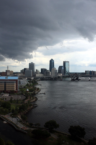 florida jacksonville stjohnsriver stormfront viewfrommyoffice