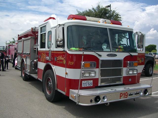 El Paso Tx Fire Dept Pumper 19 Flickr Photo Sharing