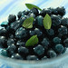Blueberries in Gin Syrup
