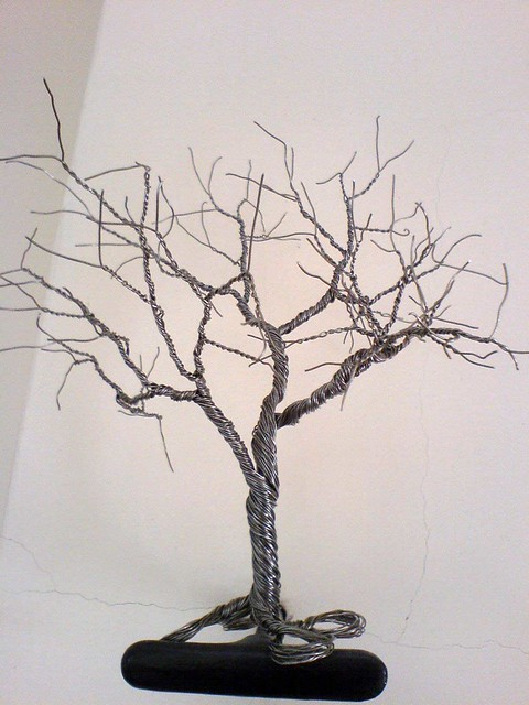 Wire Tree This Tree Are Made From Steel Wire It 180 S Going
