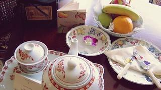 Welcome Tea and fruit - Peninsula Hong Kong