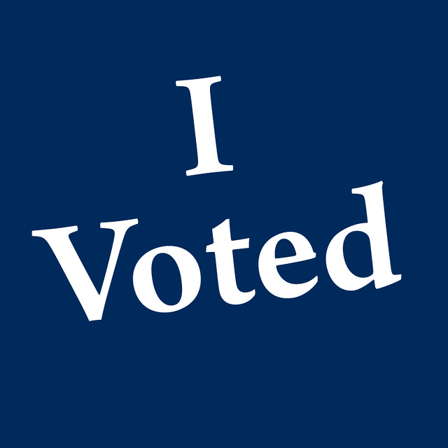 I Voted - Blue Version