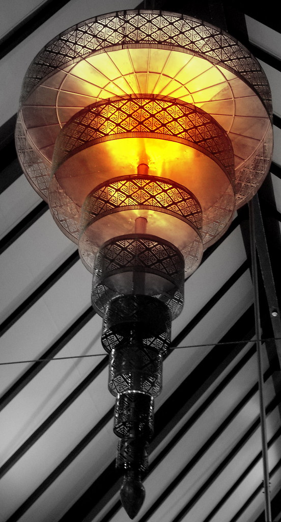 Orange Lamp Shade