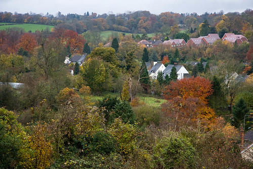 Coulsdon from Farthing Downs