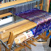 loom- with ikat dyed silk warp by penny.coupland