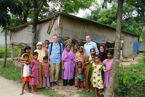 Group Photo in Village