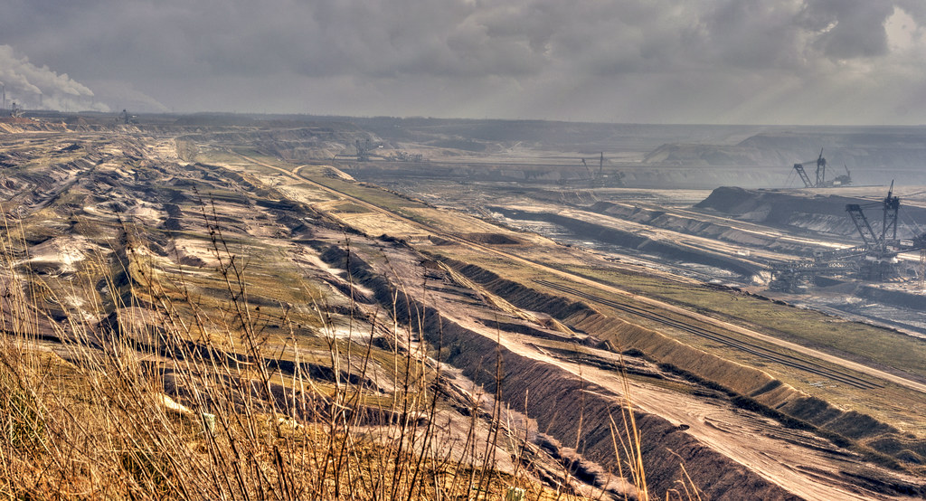 Open coal mine Garzweiler II