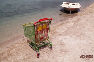 shopping by the sea