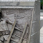 Washington DC - Penn Quarter: United States Navy Memorial - Amphibious Assault at Inchon