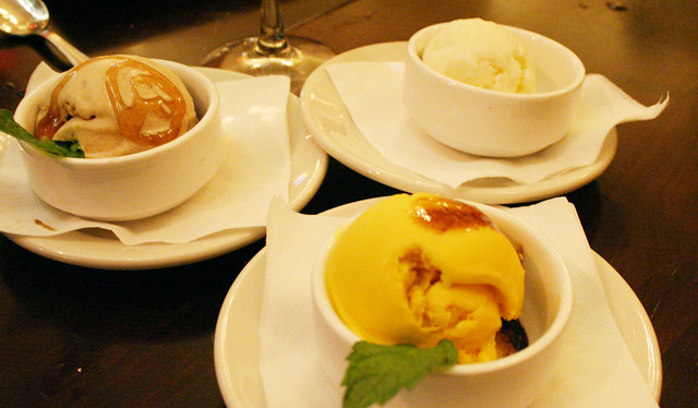 Cinnamon Gelato with ginger honey, Rice gelato, Zabaione g… | Flickr ...