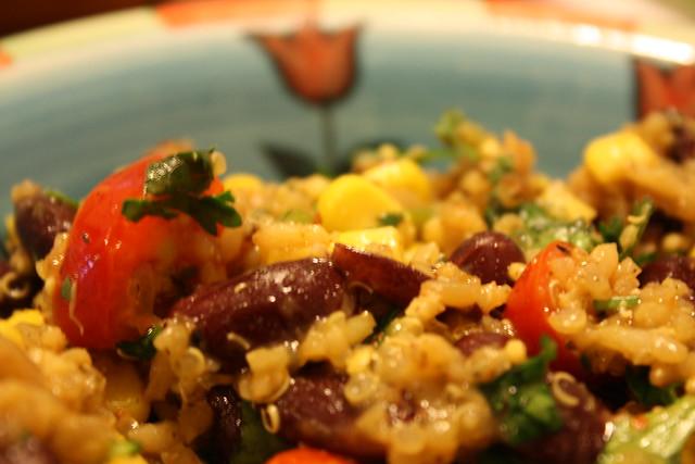 Zesty Cilantro Quinoa Salad1